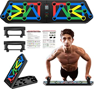 13 in 1 Multifunctional Push Up Board System, Portable Fitness Exercise Tools Workout Push-up Stands,Home Gym Training Equ...