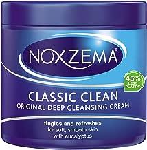 Noxzema Classic Clean Cream Original Deep Cleansing, White, 12 oz (Pack of 6)
