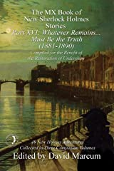 The MX Book of New Sherlock Holmes Stories - Part XVI Kindle Edition