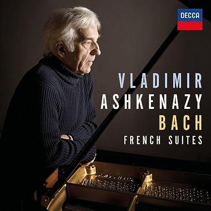 进口CD:巴赫6首法国组曲-阿什肯纳齐(钢琴) Bach: French Suites, BWV 812-817(CD)4832150