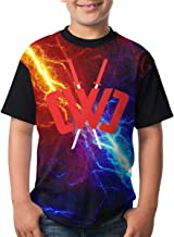 Chad Wild Clay Boys and Girls Print T-Shirts, Youth Fashion Tops