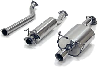"""Yonaka Acura RSX BASE 2002-2006 2.5"""" Stainless Steel Performance Catback Exhaust"""