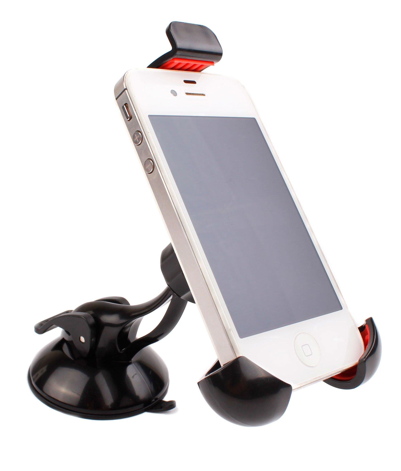 DURAGADGET Soporte Giratorio para Coche para Smartphone BQ Aquaris ...