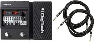 Digitech Element XP Guitar Floor Processor Multi-Effects Pedal w/ (2) 10' Guitar Cables
