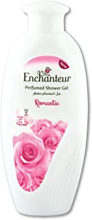 Enchanteur Romantic Perfumed Shower Gel for Women, 250ml with Roses & Jasmine Extracts