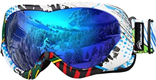 OutdoorMaster Kids Ski Goggles – Helmet Compatible Snow Goggles for Boys &..