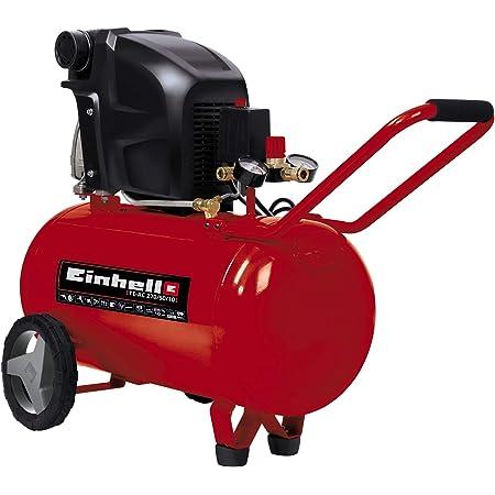 Einhell Kompressor Te Ac 270 50 10 1 800 W Max 10 Bar 50 L Tank Druckminderer Rückschlag Sicherheitsventil Langlebig Durch Ölschmierung Baumarkt