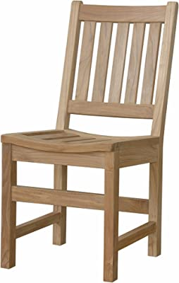 Anderson Teak Sonoma Dining Chair, Jockey Red