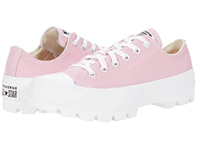Converse Chuck Taylor All Star Lugged Seasonal Color Ox (Lotus Pink/White/White) Women