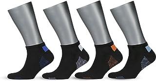 Gowith Pamuklu Terlemeyi Önleyen Erkek Spor Patik Çorabı 4 Çift/MİX 3110