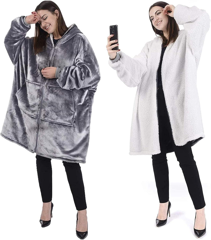 Chemstar Reversible Comfort 開店祝い Hoodie Oversize セールSALE%OFF Blanket Sweatshirt