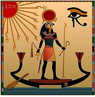 Lefgnmyi Egypte Ra soleil dieu abstrait peintures murales toile Art affiche et impressions peinture ancienne croyance phot...