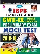 Kiran IBPS Bank Clerk CWE IX Preliminary Exam Mock Test (English) (2618)