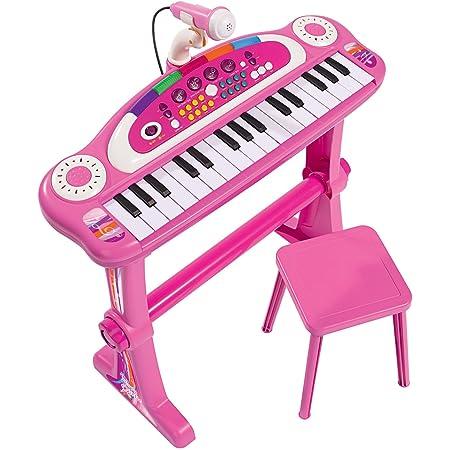 Simba- My Music World Teclado en Soporte para Niñas, Color surtido (106830690)
