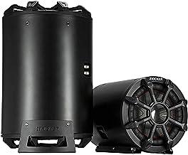 KICKER CWTB 10 Inch Ultra Deep Loaded Trunk Mounted Tube Sub Speakers, Black