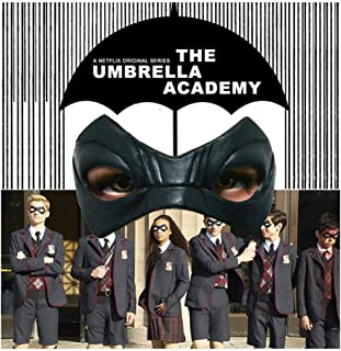 The Umbrella Academy Latex Eye Mask Halloween Movie&TV Masks Party Adults