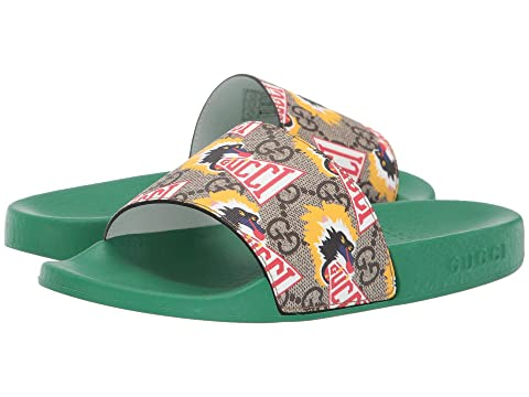 Gucci Kids GG Supreme Baboon Slide (Little Kid)