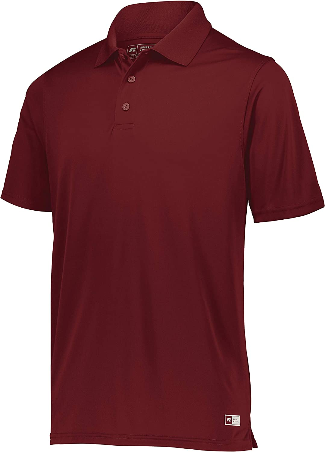 Russell Our shop most popular Athletic Mens gift Shirt Wicking Polo