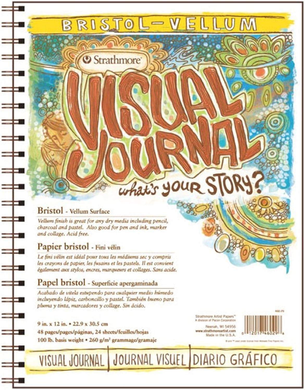 Strathmore Visual Journal - Bristolpapier B005Z3SU8Q    Lebensecht