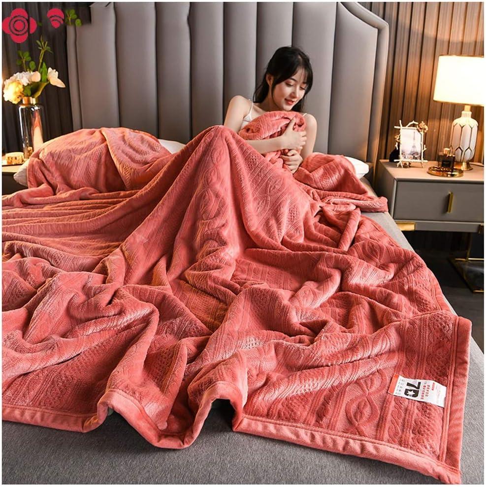 Wyhgry Max Over item handling 86% OFF Flannel Fleece Throw Blankets Fluffy Blanket Resi Wrinkle