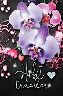 Habit Tracker: Monthly Habit Journal To Track Your Progress, Build Routines And Achieve Goals. Daily Habit Tracking - Habi...