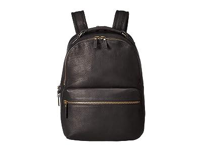 Shinola Detroit Runwell Backpack Bison AG (Black) Backpack Bags