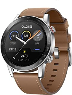 ساعة ذكية HONOR MagicWatch 2 46 مم، جهاز تتبع النشاط اللياقة البدنية مع جهاز مراقبة ضغط معدل ضربات القلب SpO2، ساعة ذكية ب...