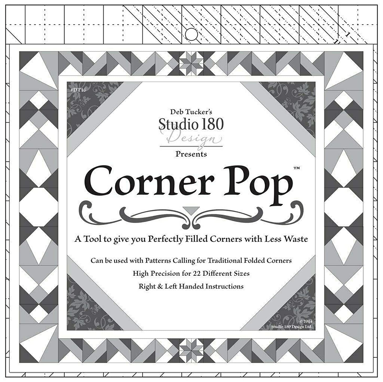 Corner Pop Tool for Making Folded Corners~22 Size Options by Studio 180 Designs