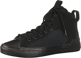 Converse Ultra Canvas Suede Accent Rubber-Sole Lace-up High-Top Unisex Sneakers