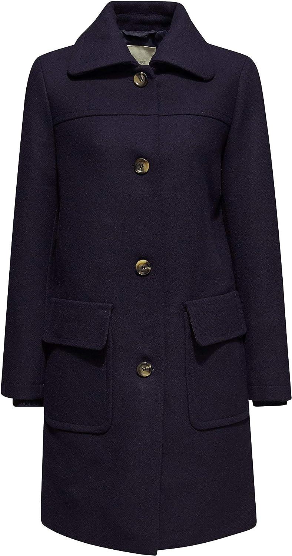 ESPRIT Damen Mantel Blau (Navy 400)