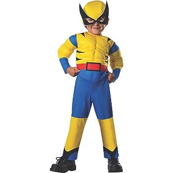 Disfraz de Lobezno Marvel deluxe para bebé: Amazon.es: Juguetes y ...
