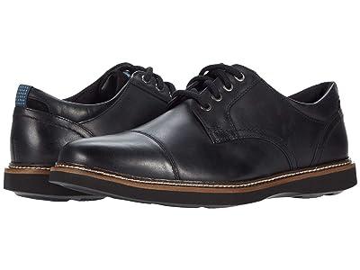 Nunn Bush Ridgetop Cap Toe Oxford (Black) Men