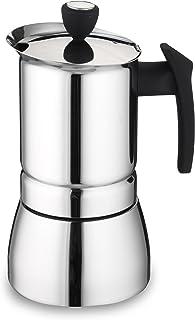 Café Ole Espresso kaffemaskin 4 Cup SILVER