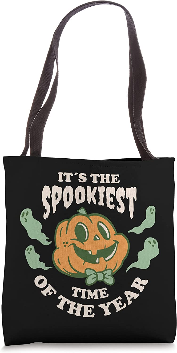 It's the Spookiest Time of The year Clearance SALE Limited time Ghost Pumpkin OFFicial Face Tote Cute