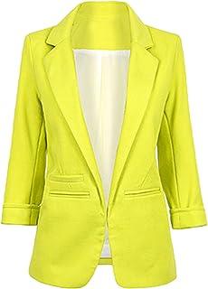 Women Casual Boyfriend No Buckle Business Suit Autumn Winter Jacket Blazer Coat