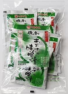マルヤス味噌 フリーズドライ即席みそ汁 磯の香りあおさの味噌汁(麦味噌) 5食入×5個