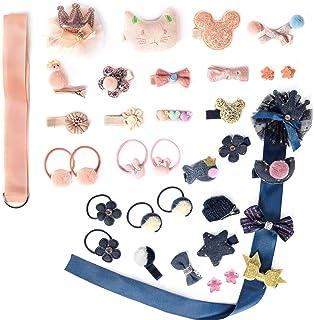 36pcs Accessories Toddler Elastic Storage