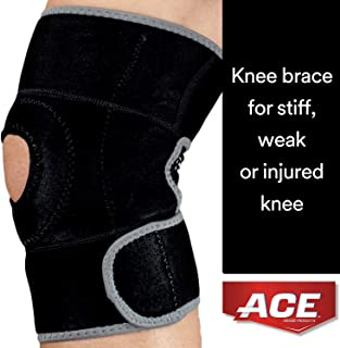 ACE Brand Knee Brace, America's Most Trusted Brand of Braces and Supports, Money Back Satisfaction Guarantee