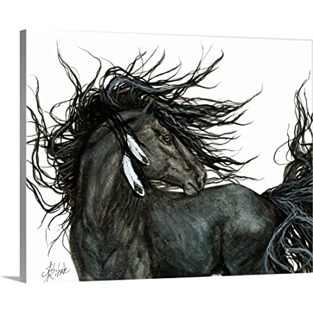 His Majesty Poster Art Print Horse Home Decor