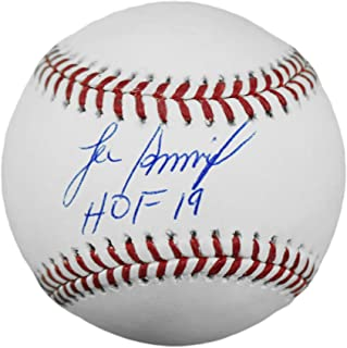 "Lee Smith Autographed Official MLB Baseball - Major League Rawlings Ball With""HOF 19"" Inscription - Hand Signed & JSA Authenticated"