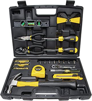 STANLEY 94-248 65 Piece DIY Tool Kit