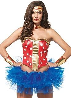 Leg Avenue Women's 4 PIece Super Star Hero Costume Kit