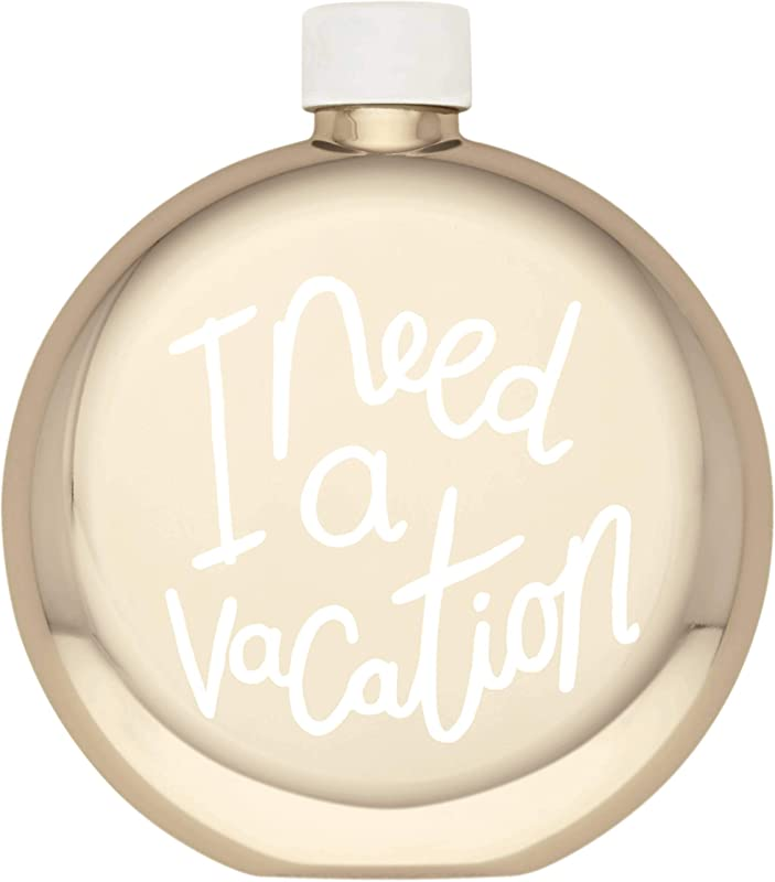 Kate Spade New York 880254 All That Glistens I Need A Vacation Flask
