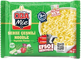 Oba Makarna Obamie Sebzeli Noodle 75 gr