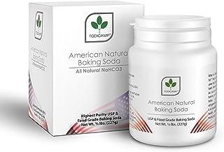 Natural Sodium Bicarbonate Powder 8oz - TODICAMP® - American Natural Baking Soda | Vegan Friendly | GMO Free | All Natural...