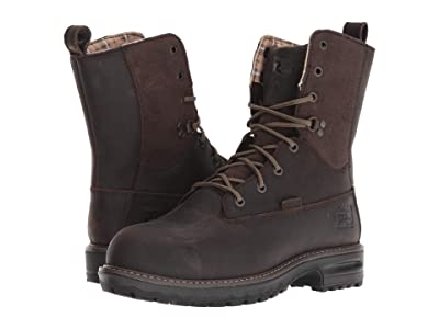 Timberland PRO Hightower 8 Safety Toe WP 600g Insulated (Brown Distressed) Women