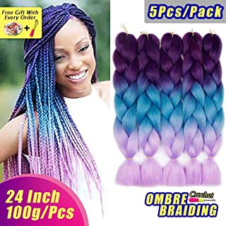 Best blue ombre hair extensions Reviews