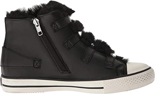 Nappa Wax Black/Eco Fur Black