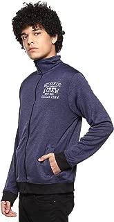 AMERICAN CREW Men's Full Sleeves Zipper Jacket