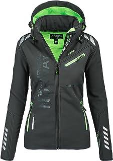 Geographical Norway Damen Softshell Funktions Outdoor Regen Jacke Sport